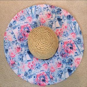 NWT Lilly Pulitzer Sea To Shining Sea Beach Hat